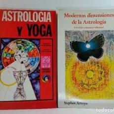 Libros de segunda mano - MODERNAS DIMENSIONES DE LA ASTROLOGÍA. Los ciclos y nuestras relaciones / ASTROLOGÍA Y YOGA. - 123509607