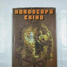 Libros de segunda mano: HORÓSCOPO CHINO. - FLEURY, RENE.- EDITORS S.A. TDK231. Lote 126674103