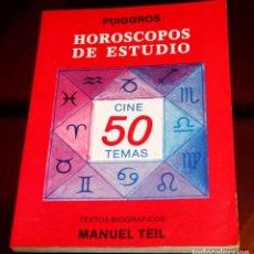 Libros de segunda mano: HORÓSCOPOS DE ESTUDIO PUIGGROS CINE 50TEMAS. Lote 132951630