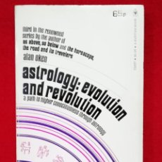 Libros de segunda mano: ASTROLOGY EVOLUTION AND REVOLUTION ( INGLÉS ). Lote 133590474