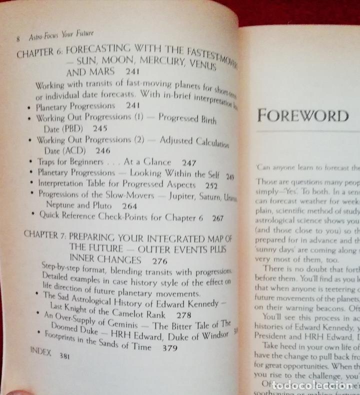 Libros de segunda mano: Astro-focus your future ( inglés ) - Foto 5 - 133590722