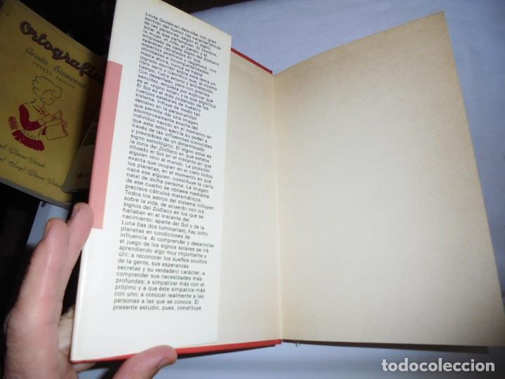 Libros de segunda mano: LOS SIGNOS DEL ZODIACO Y SU CARACTER.LINDA GOODMAN.MUNDO ACTUAL DE EDICIONES 1981.-2ª EDICION - Foto 3 - 133848406