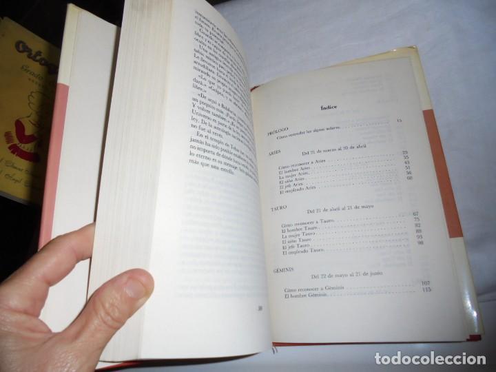 Libros de segunda mano: LOS SIGNOS DEL ZODIACO Y SU CARACTER.LINDA GOODMAN.MUNDO ACTUAL DE EDICIONES 1981.-2ª EDICION - Foto 5 - 133848406