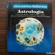 Libros de segunda mano: ASTROLOGIA. LIBROS PRACTICOS MEDITERRANEO. B.A. MERTZ.. Lote 135544054