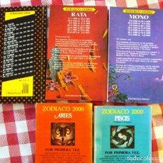 Libros de segunda mano: LOTE LIBROS SOBRE HOROSCOPO CHINO ZODIACO LIQUIDACION OFERTAS DE ENERO. Lote 139927430
