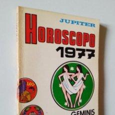 Libros de segunda mano: GÉMINIS HORÓSCOPO 1977   RODRÍGUEZ ILLERA   EDICIONES ALONSO 1976. Lote 142738198