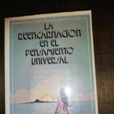 Libros de segunda mano: HEAD / CRANSTON, LA REENCARNACIÓN EN EL PENSAMIENTO UNIVERSAL. Lote 150493482