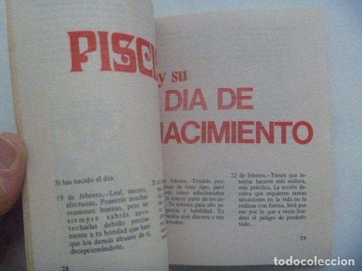 Libros de segunda mano: HOROSCOPO : PISCIS , 1973 . CON UN EXTENSO ESTUDIO SOBRE EL AMOR Y SUS AFINIDADES - Foto 2 - 151016194