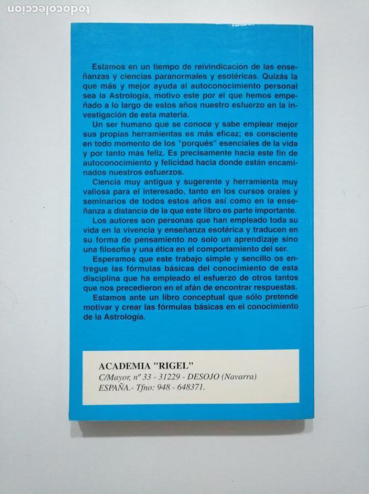 Libros de segunda mano: ASTROLOGIA PRACTICA. - ACADEMIA RIGEL. ROSA CALVO, LICE MORENO. TDK375 - Foto 2 - 154834278