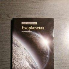 Libros de segunda mano: EXOPLANETAS ÁLVARO GIMÉNEZ. Lote 155505754