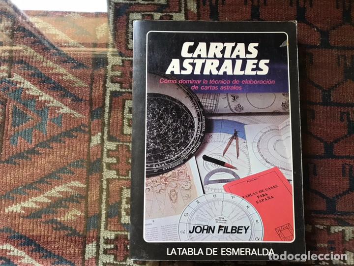 CARTAS ASTRALES. JOHN FILBEY (Libros de Segunda Mano - Parapsicología y Esoterismo - Astrología)