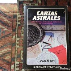 Libros de segunda mano: CARTAS ASTRALES. JOHN FILBEY. Lote 158894088