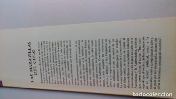 Libros de segunda mano: LAS MARAVILLAS DEL CIELO - Antonio Paluzie - Astronomía y astronáutica - DANAE -VER FOTOS - Foto 4 - 160650102