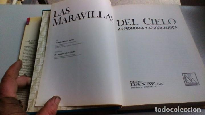 Libros de segunda mano: LAS MARAVILLAS DEL CIELO - Antonio Paluzie - Astronomía y astronáutica - DANAE -VER FOTOS - Foto 6 - 160650102
