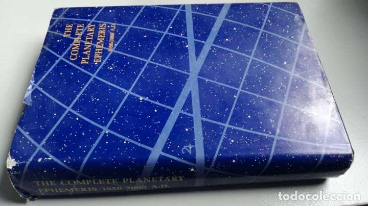 THE COMPLETE PLANETARY EPHEMERIS 1950 2000 A D - LA EFEMÉRIDES PLANETARIAS COMPLETAS 1950 2000 A D (Libros de Segunda Mano - Parapsicología y Esoterismo - Astrología)
