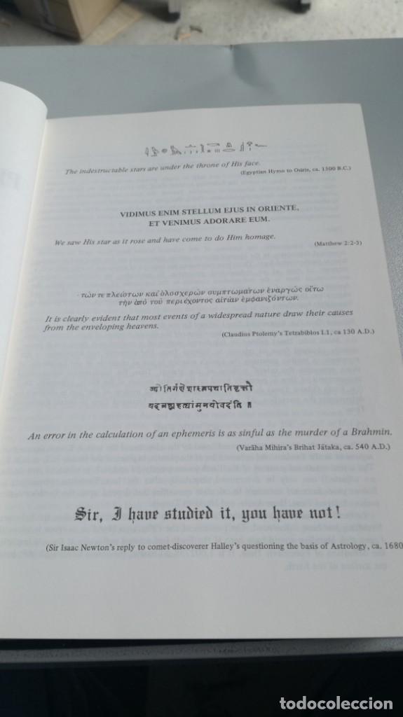 Libros de segunda mano: THE COMPLETE PLANETARY EPHEMERIS 1950 2000 A D - LA EFEMÉRIDES PLANETARIAS COMPLETAS 1950 2000 A D - Foto 7 - 161288398