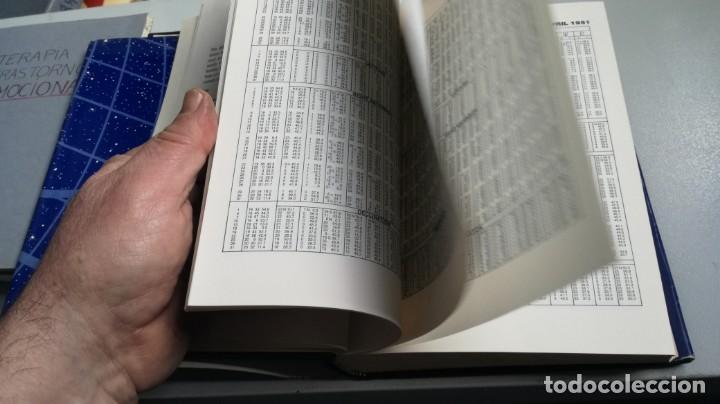 Libros de segunda mano: THE COMPLETE PLANETARY EPHEMERIS 1950 2000 A D - LA EFEMÉRIDES PLANETARIAS COMPLETAS 1950 2000 A D - Foto 17 - 161288398