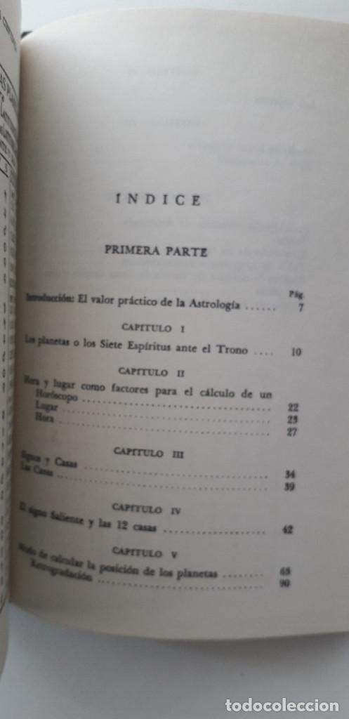 Libros de segunda mano: ASTROLOGIA CIENTIFICA SIMPLIFICADA, LA FRATERNIDAD ROSACRUZ - MAX HEINDEL (Kier 1958) - Foto 5 - 166913120