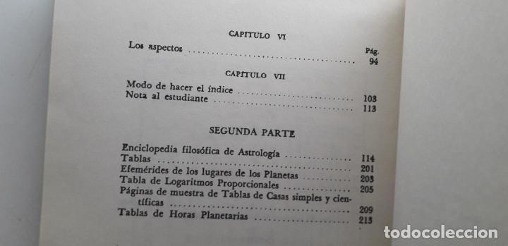 Libros de segunda mano: ASTROLOGIA CIENTIFICA SIMPLIFICADA, LA FRATERNIDAD ROSACRUZ - MAX HEINDEL (Kier 1958) - Foto 6 - 166913120