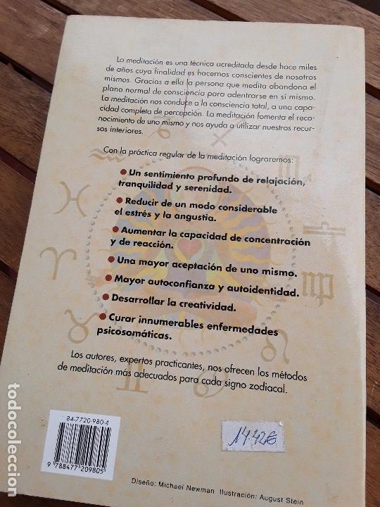 Libros de segunda mano: El gran libro de la meditacion, de Margit y Ruediger Dahlke. Obelisco. Raro. - Foto 2 - 167129616