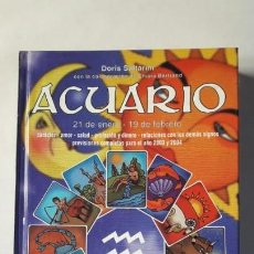 Libros de segunda mano: ACUARIO. HELENE KINAUER SALTARINI, 2002.. Lote 168316696