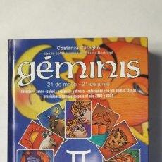 Libros de segunda mano: GEMINIS. HELENE KINAUER SALTARINI, 2002.. Lote 168316756