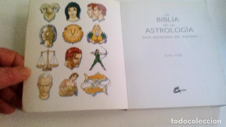 Libros de segunda mano: LA BIBLIA DE LA ASTROLOGÍA-JUDY HALL-GAIA EDICIONES-PRIMERA EDICION FEBRERO 2007 - Foto 4 - 168404788