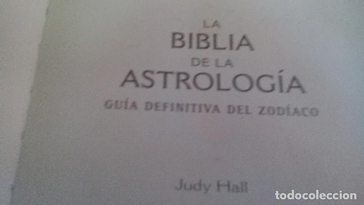 Libros de segunda mano: LA BIBLIA DE LA ASTROLOGÍA-JUDY HALL-GAIA EDICIONES-PRIMERA EDICION FEBRERO 2007 - Foto 5 - 168404788