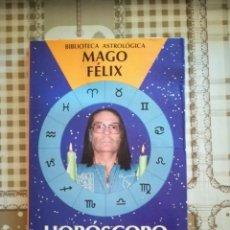Libros de segunda mano: HORÓSCOPO Y REENCARNACIÓN - MAGO FÉLIX. Lote 169447764