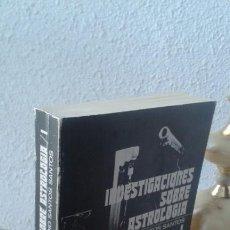 Libros de segunda mano: INVESTIGACIONES SOBRE ASTROLOGÍA. VOLUMEN 1º. DEMETRIO SANTOS SANTOS. Lote 168516648