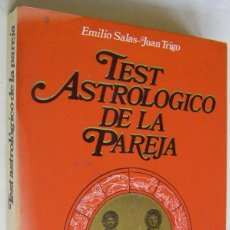 Libros de segunda mano: TEST ASTROLOGICO DE LA PAREJA, EMILIO SALAS-JUAN TRIGO, MARTINEZ ROCA. Lote 170585675