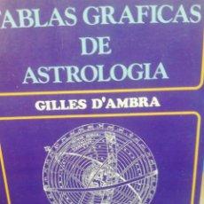 Livres d'occasion: GILLES D'AMBRA. TABLAS GRÁFICAS DE ASTROLOGÍA . Lote 171490367