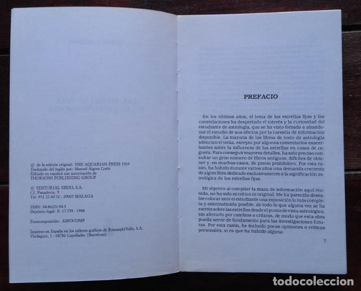 Libros de segunda mano: Las estrellas fijas y las constelaciones, Vivian E. Robson - Foto 2 - 171697554