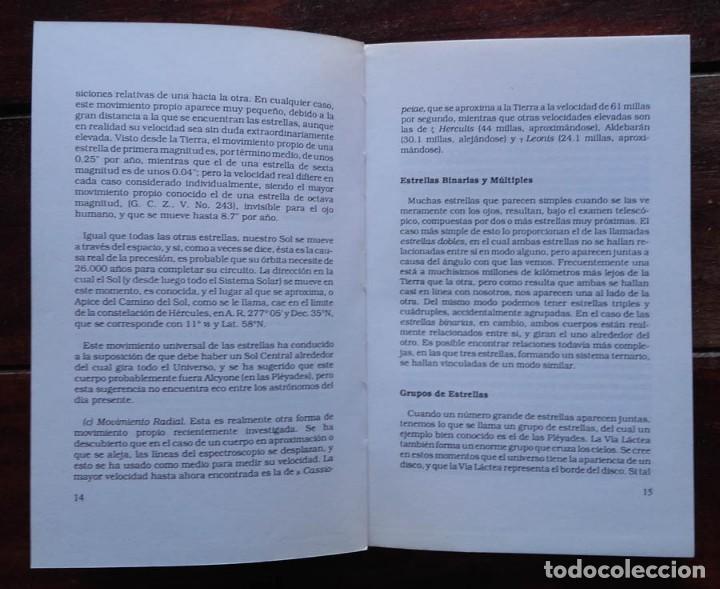 Libros de segunda mano: Las estrellas fijas y las constelaciones, Vivian E. Robson - Foto 3 - 171697554