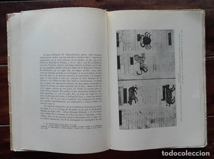 Libros de segunda mano: Las Tablas Astronómicas del Rey Don Pedro El Ceremonioso, Jose. M. Millas Vallicrosa - Foto 4 - 172352030