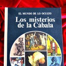 Libros de segunda mano: LOS MISTERIOS DE LA CABALA. Lote 180011205