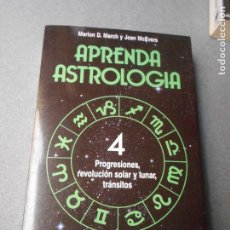 Libros de segunda mano: APRENDA ASTROLOGIA Nº 4. Lote 180118308