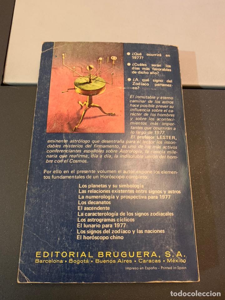 Libros de segunda mano: ASTROS 1977. PROFESOR LESTER. - Foto 2 - 182301867