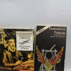 Libros de segunda mano: LAS PROFECÍAS PARA ESPAÑA Y NOSTRADAMUS PROFECÍAS. Lote 182375711