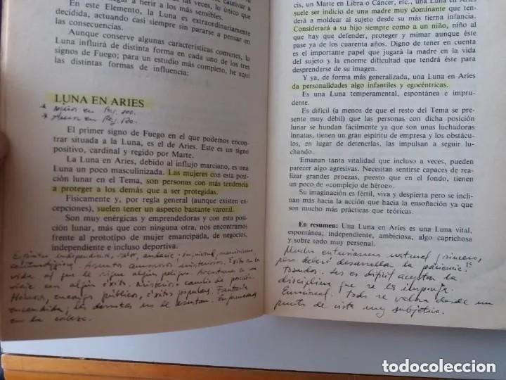 Libros de segunda mano: LA LUNA (CLAVE DEL HOROSCOPO) / AMALIA PERADEJORDI - Foto 5 - 183446976