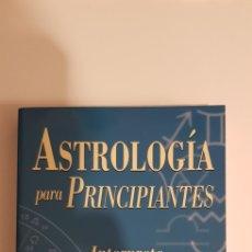 Livros em segunda mão: ASTROLOGIA PARA PRINCIPIANTES - WILLIAM W. HEWITT. Lote 184647663