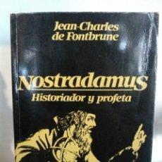 Libros de segunda mano: NOSTRADAMUS HISTORIADOR Y PROFETA. BARCANOVA. Lote 192139442