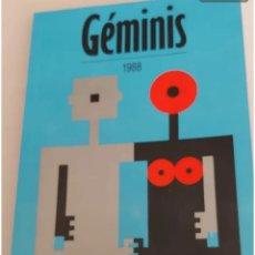 Libros de segunda mano: GÉMINIS 1988 PLAZA Y JANES. Lote 192293361