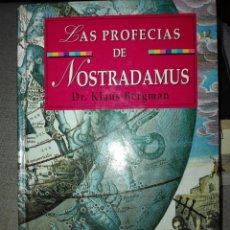 Libros de segunda mano: LAS PROFECÍAS DE NOSTRADAMUS. KLAUS BERGMAN. 1997. Lote 193409698