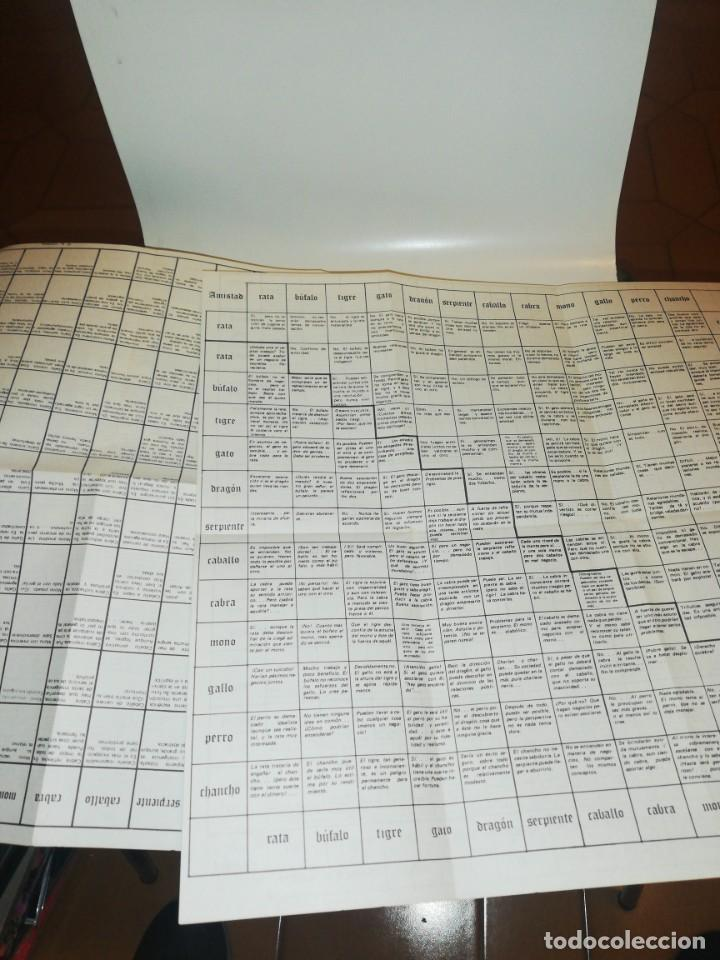 Libros de segunda mano: horoscopos chinos , paula delsol , incluye los 2 desplegable ver fotos - Foto 3 - 194541633