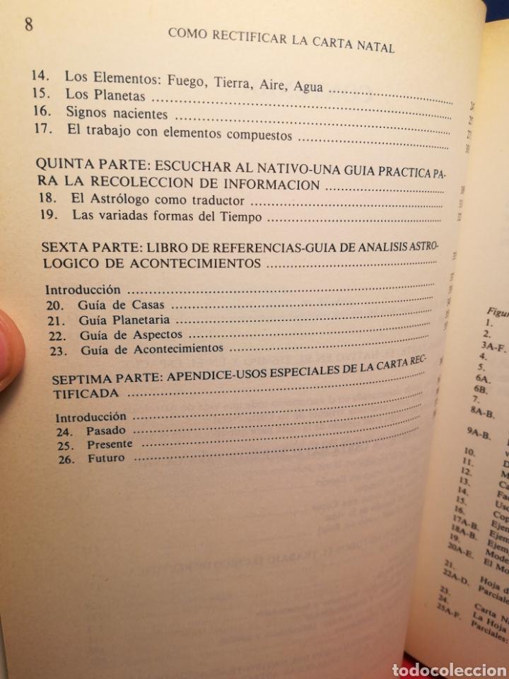 Libros de segunda mano: Cómo rectificar la carta natal/ Laurie Efrein/ Edaf, 1988 - Foto 5 - 196934992