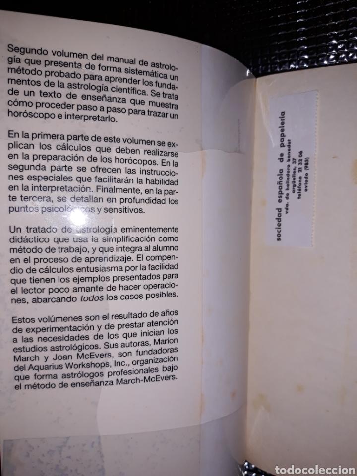 Libros de segunda mano: APRENDA ASTROLOGIA : METODO MARCH/McEVERS - Foto 5 - 210815269