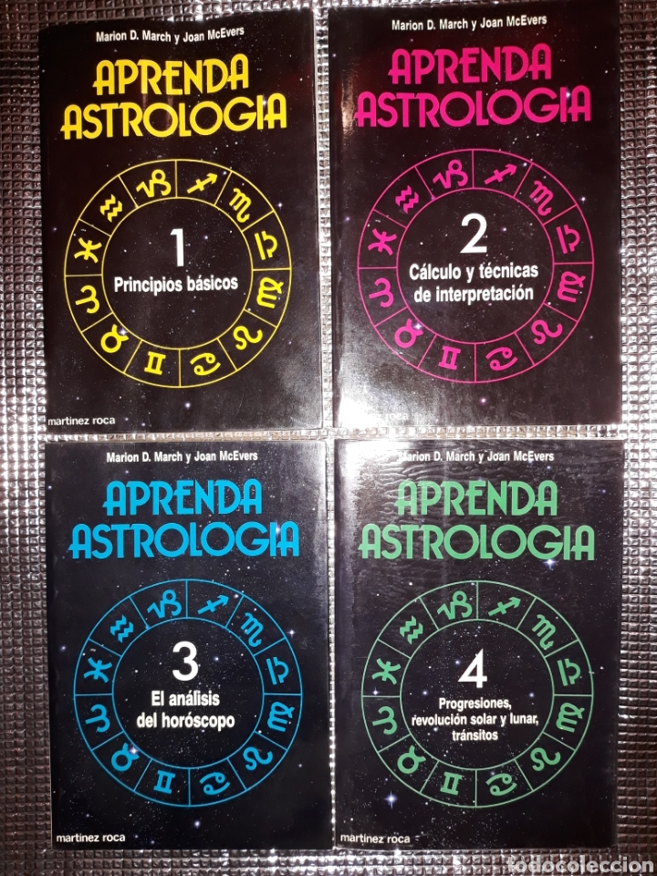 APRENDA ASTROLOGIA : METODO MARCH/MCEVERS (Libros de Segunda Mano - Parapsicología y Esoterismo - Astrología)