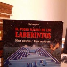 Libri di seconda mano: EL PODER MÁGICO DE LOS LABERINTOS. Lote 203992327