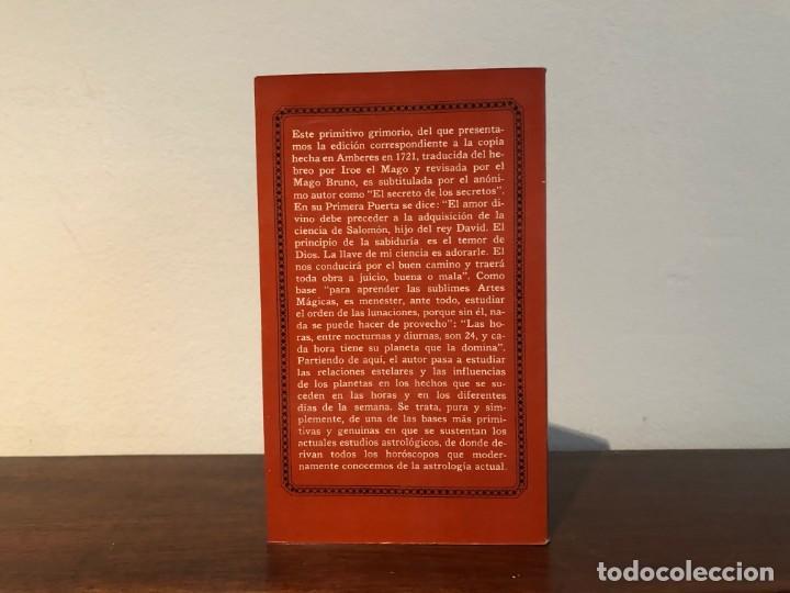 Libros de segunda mano: Clavículas de Salomón. Iroe el Mago. Colección Hermes . Roca. Ciencias ocultas. Magia. - Foto 2 - 204471755